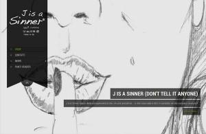 J is a Sinner